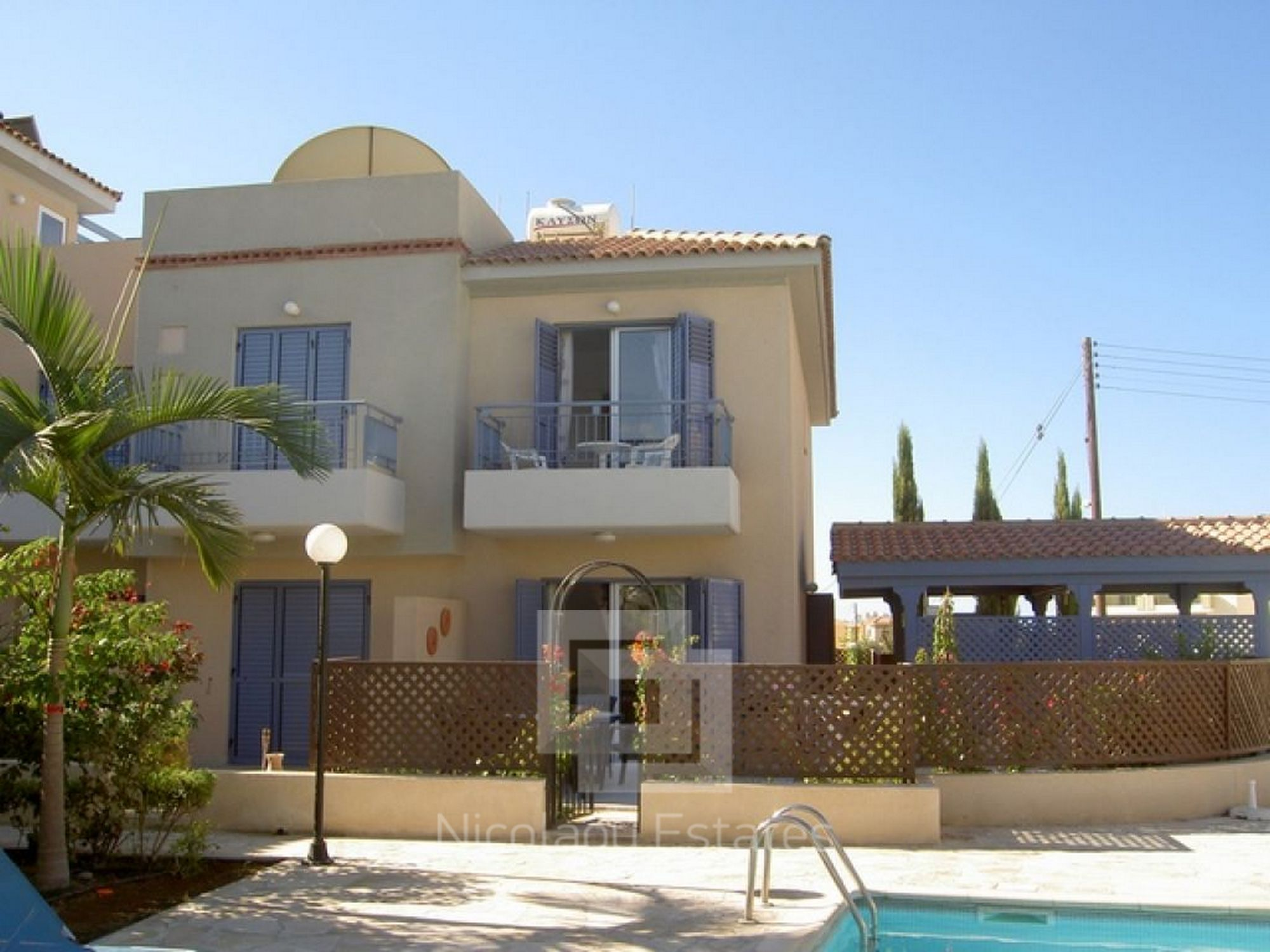 For Sale Two Bedroom Townhouse For Sale In Kato Paphos Eur
