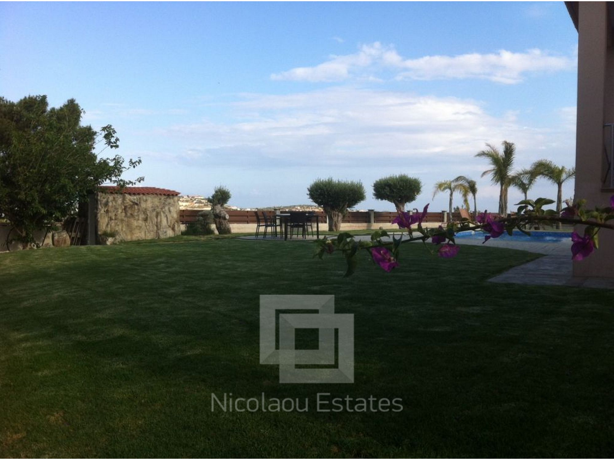 For Sale Villa With Great Views And Large Gardens In