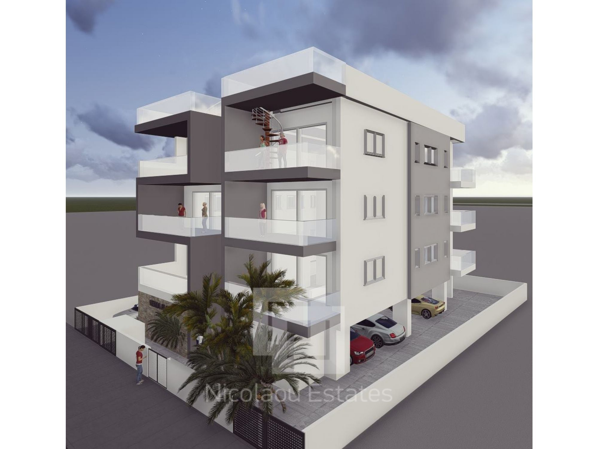 Sold Under Construction Luxury Two Bedroom Apartment For Sale In Naafi Area Limassol Eur 230 000